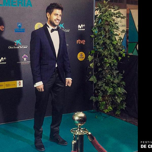 Dani Luque elige un look de Félix Ramiro para el Festival Internacional de cine de Almería