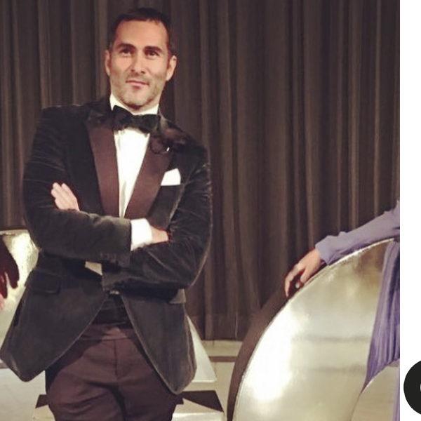 Jesús Cicero y Cayetana Villegas en los Premios Hombres del Año GQ