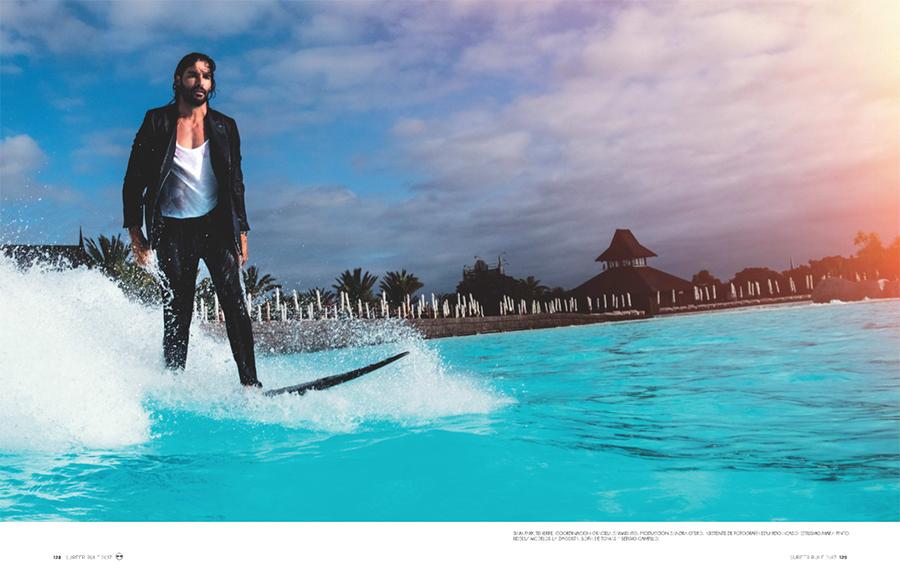 Prensa parte 2 editorial Surfer Rule Félix Ramiro