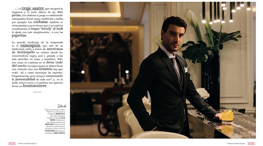 Prensa Parte 3 editorial Tendencias de Bodas Magazine Félix Ramiro