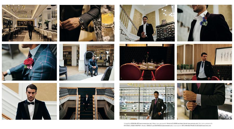 Prensa Parte 4 editorial Tendencias de Bodas Magazine Félix Ramiro