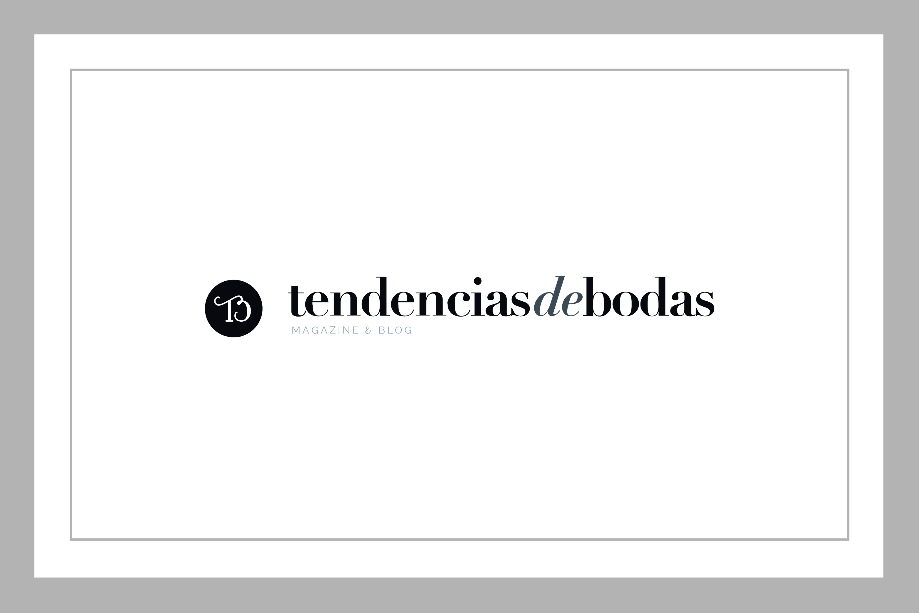 destacada prensa tendencias de bodas Magazine Félix Ramiro