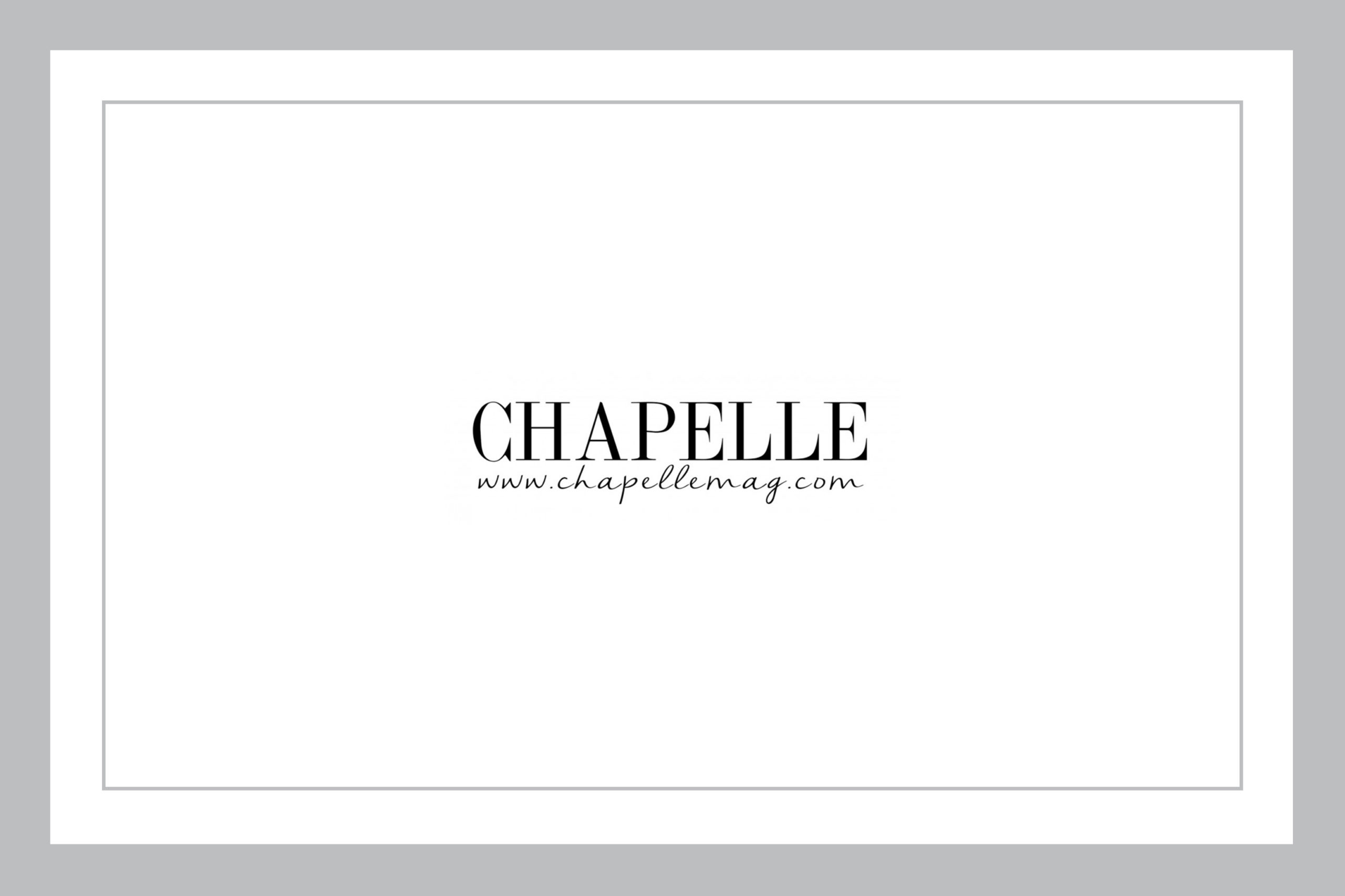 prensa masculina Chapelle Magazine
