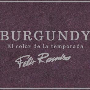 Burgundy, el color de la temporada