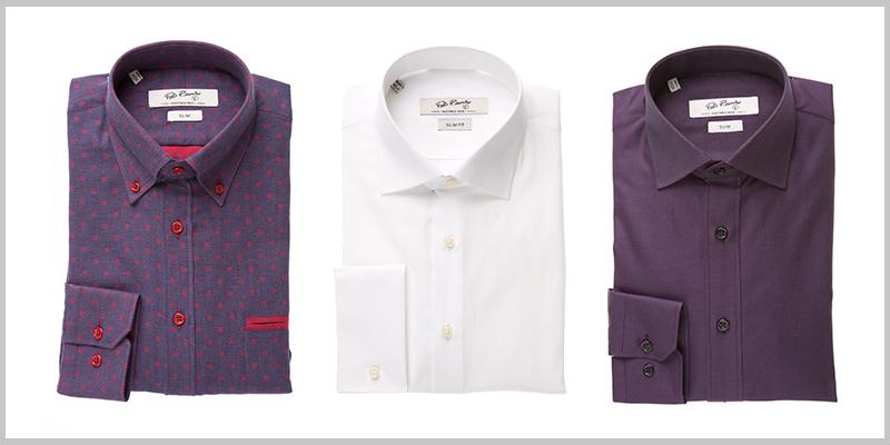 Color Burgundy en camisas.