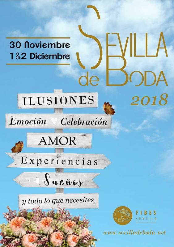 Cartel Sevilla de Boda 2018 Félix Ramiro