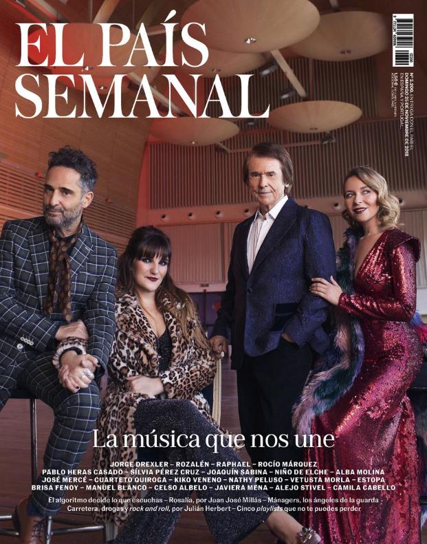 Portada El País Semanal 25/11/18 Félix Ramiro